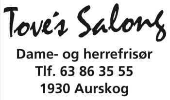 Tove's Salong - Frisør på Aurskog Senter